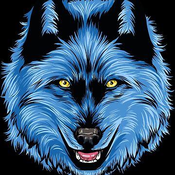 Power Animal Wolf by anziehend