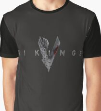 Vikings logo Graphic T-Shirt