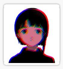 シリアルエクスペリメンツレイン - serial experiments lain  Sticker