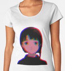 シリアルエクスペリメンツレイン - serial experiments lain  Women's Premium T-Shirt