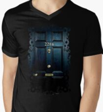 Haunted Blue Door with 221b number T-Shirt