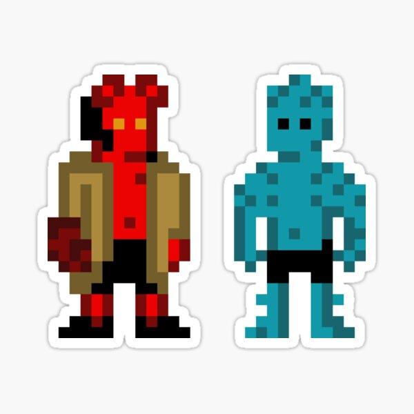 Hellboy and Abe Sticker