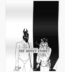 Death Grips - The Money Store Poster