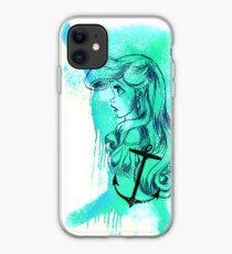 Arielle Watercolor Trash Splash Aquarell Polkatrash iPhone Case