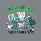 Zombie Protest by dooomcat
