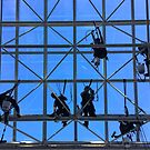 Window Washers by Ludwig Wagner