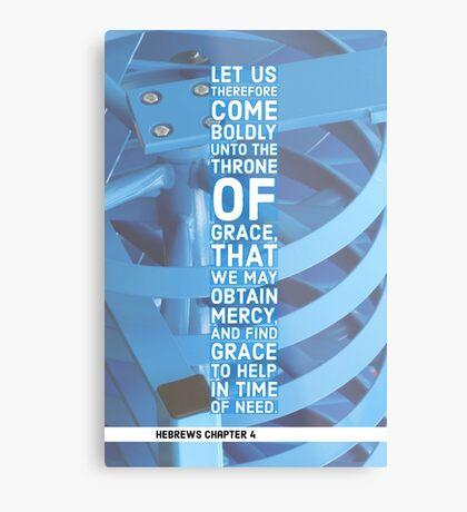 Hebrews chapter 4 Metal Print