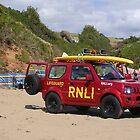 Beach Lifeguard by lezvee