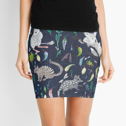 Australiana marsupials   Mini Skirt