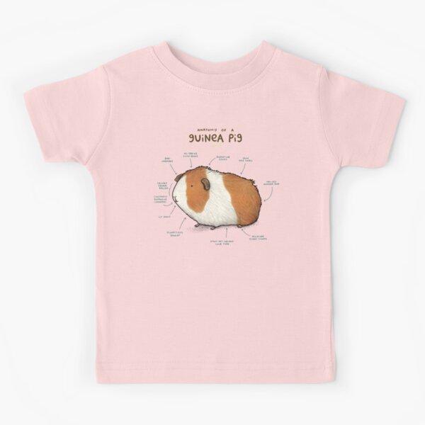 Anatomie d'un cochon d'Inde T-shirt enfant
