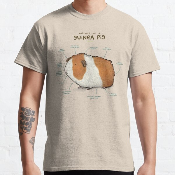 Anatomy of a Guinea Pig Classic T-Shirt