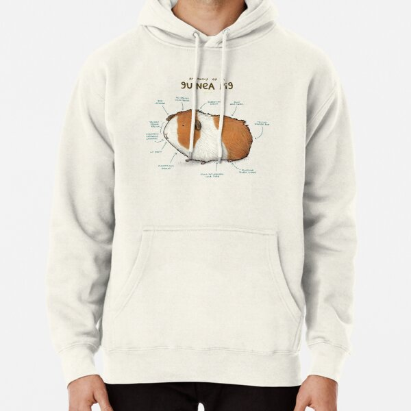 Anatomy of a Guinea Pig Pullover Hoodie