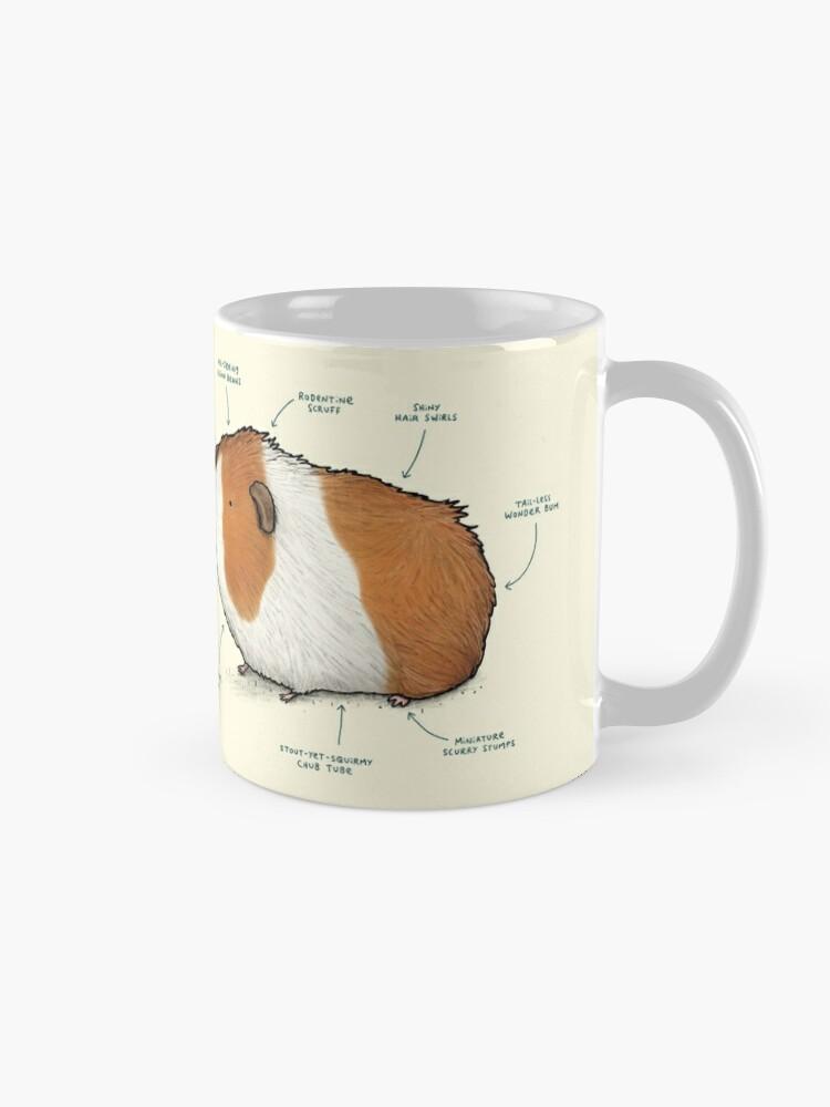 Alternate view of Anatomy of a Guinea Pig Mug