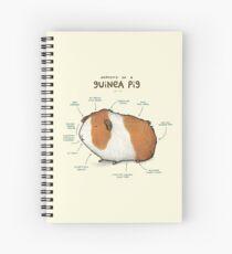 Anatomy of a Guinea Pig Spiral Notebook