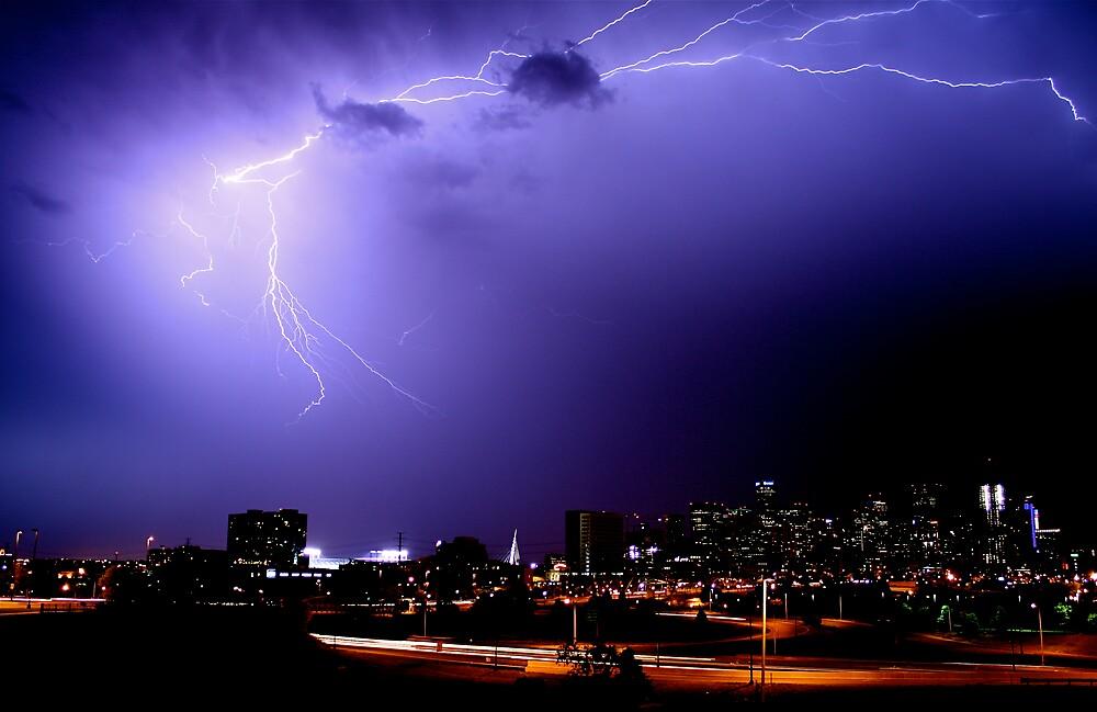 Lightning over Denver by greg1701