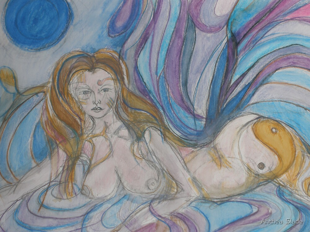 River Goddess by Anthea  Slade