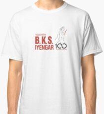 BKS Iyengar Official Centenary Year Logo - charity design Classic T-Shirt