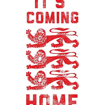 Three Lions Shirt, Englad Soccer Shirt, It's Coming Home Shirt by BKLS