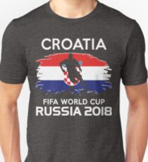 Croatia Team, Semi Finals World Cup 2018 Unisex T-Shirt