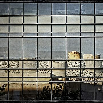 Reflection - in Canberra CBD by ausigreybear