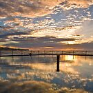 Reflected - Coogee, NSW by Malcolm Katon