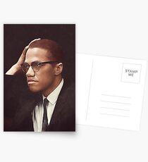 Malcolm X Postcards