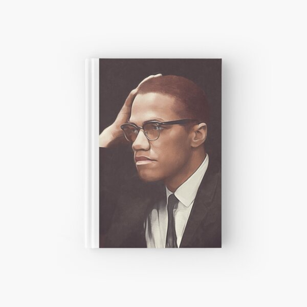Malcolm X Hardcover Journal