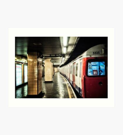 Cannon Street Tube Station Art Print
