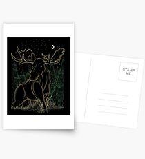 Canadian Bull Moose Postcards