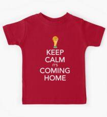 Keep Calm, It's Coming Home Kids T-Shirt
