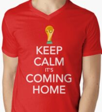 Keep Calm, It's Coming Home Men's V-Neck T-Shirt