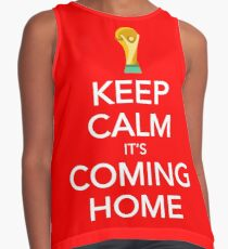Keep Calm, It's Coming Home Contrast Tank