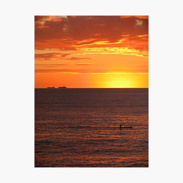 Paddle Out Photographic Print