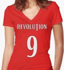 FC Revolutionale Women's Fitted V-Neck T-Shirt