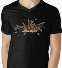 Toyota Land Cruiser Men's V-Neck T-Shirt