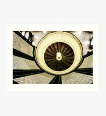 Clapham Common Tube Station Art Print