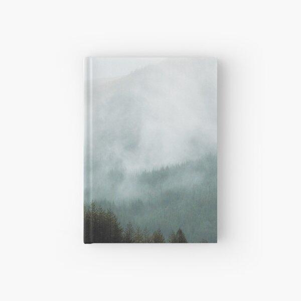 Brume hivernale dans les vallées Carnet cartonné