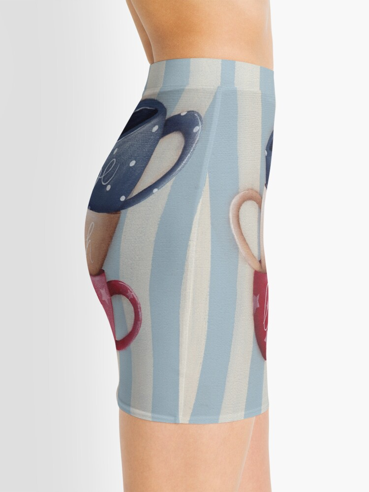 Alternate view of Live Laugh Love Mini Skirt