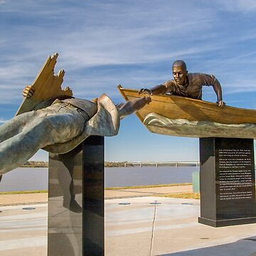 Memphis Tennessee TN, USA, Memorial statue Tom Lee by PhotoStock-Isra