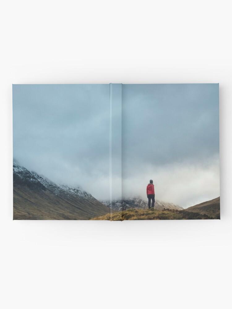 Carnet cartonné ''Alone': autre vue
