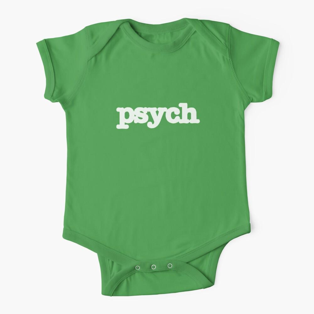 Psych Logo Baby One-Piece