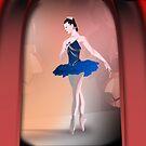 Nutcracker Ballerina by Franklin Lindsey