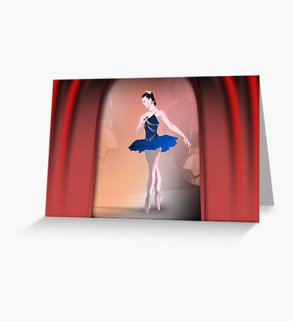 Nutcracker Ballerina Greeting Card