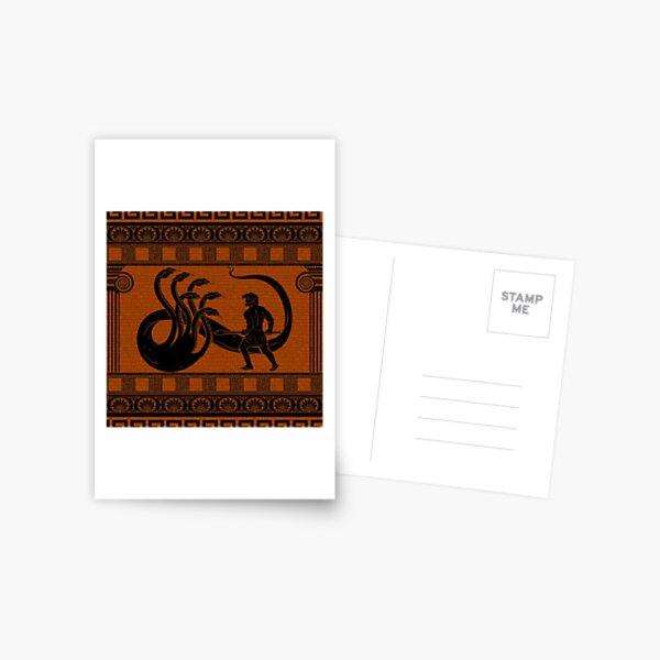 Hercules vs Hydra Postcard
