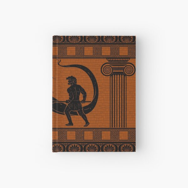 Hercules vs Hydra Hardcover Journal