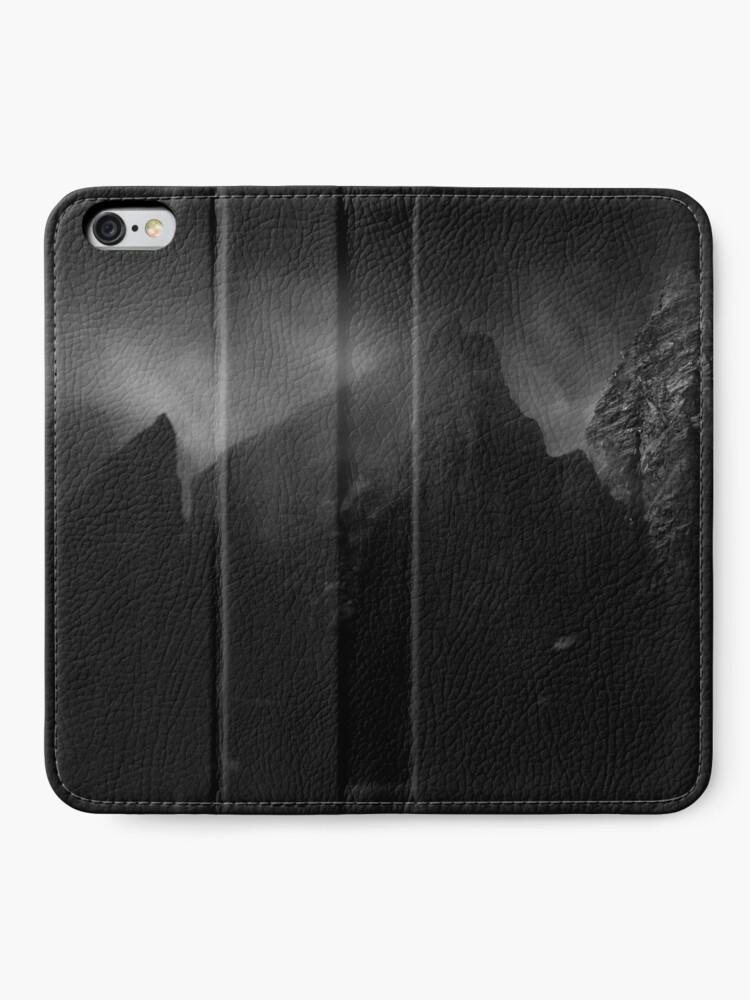 Étui portefeuille iPhone ''Forteresse': autre vue