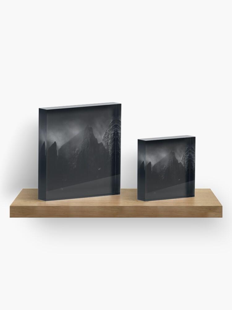 Bloc acrylique ''Forteresse': autre vue