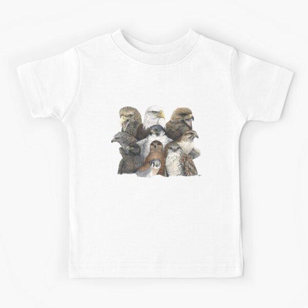 Raptors Montage Kids T-Shirt