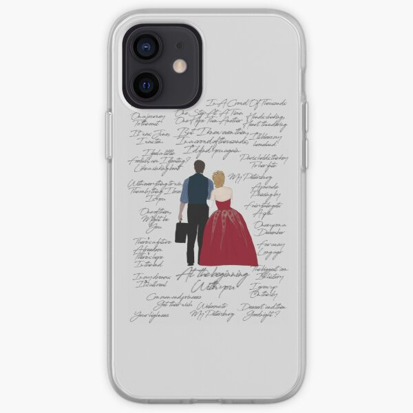 Anya Dmitry Quotes  iPhone Soft Case