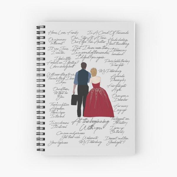 Anya Dmitry Quotes Cuaderno de espiral